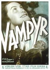 """Filmplakat zu """"Vampyr""""   Bild: Europes Finest"""