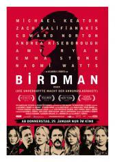 """Filmplakat zu """"Birdman oder die unverhoffte Macht der Ahnungslosigkeit """"   Bild: Fox"""