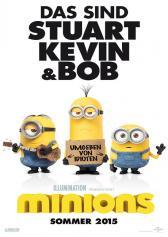 "Filmplakat zu ""Minions""   Bild: Universal"