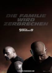 "Plakat zu ""Fast & Furious 8"" | Bild: UPI"