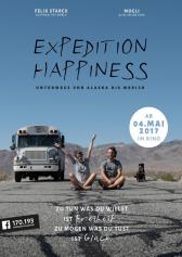 "Filmplakat zu ""Expedition Happiness"" 