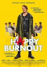 "Plakat zu ""Happy Burnout"" 