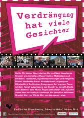 """Filmplakat zu """"Verdrängung hat viele Gesichter""""   Bild: hanna_loewe"""