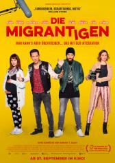 "Filmplakat zu ""Die Migrantigen"" | Bild: Camino"