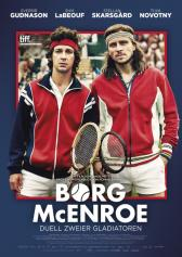 "Filmplakat zu ""Borg/McEnroe""   Bild: 24 Bilder"