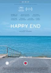 "Plakat zu ""Happy End von Michael Haneke"" 