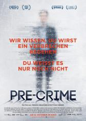 "Filmplakat zu ""Pre-Crime"" 