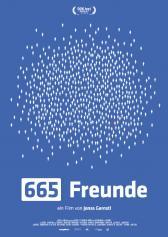 "Filmplakat zu ""665 Freunde"" | Bild: DokTour"
