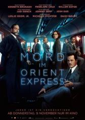 "Filmplakat zu ""Murder on the Orient Express"" 
