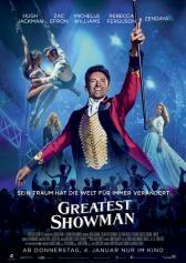 "Filmplakat zu ""Greatest Showman"" 