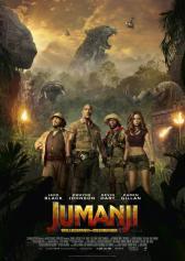 "Plakat zu ""Jumanji: Welcome to the Jungle"" | Bild: Sony"