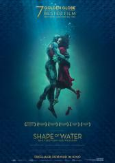 "Filmplakat zu ""Shape of Water"" 