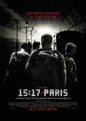 "Filmplakat zu ""The 15:17 to Paris "" 