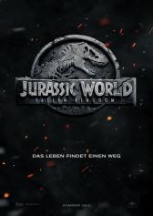 "Plakat zu ""Jurassic World: Fallen Kingdom"" | Bild: UPI"