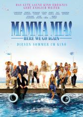 "Plakat zu ""Mamma Mia! Here We Go Again"" 