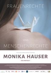 """Plakat zu """"Monika Hauser - Ein Porträt""""   Bild: Barnsteiner"""