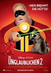"Filmplakat zu "" The Incredibles 2 "" | Bild: Disney"