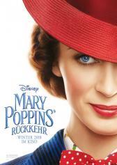 "Plakat zu ""Mary Poppins' Rückkehr"" | Bild: Disney"