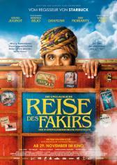 """Filmplakat zu """"Die unglaubliche Reise des Fakirs, der in einem Kleiderschrank feststeckte""""   Bild: Central"""