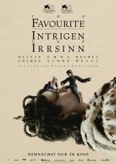 "Filmplakat zu ""The Favourite - Intrigen und Irrsinn"" | Bild: Fox"