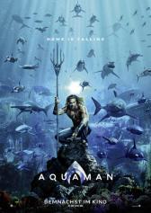 """Plakat zu """"Aquaman""""   Bild: Warner"""