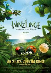 """Filmplakat zu """"Die Winzlinge - Abenteuer in der Karibik""""   Bild: Weltkino"""