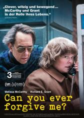 "Filmplakat zu ""Can You Ever Forgive Me?"" | Bild: Fox"