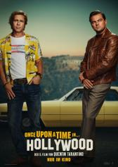 "Filmplakat zu ""Once Upon a Time... in Hollywood"" 