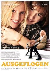 """Plakat zu """"Ausgeflogen""""   Bild: Filmagentinnen"""