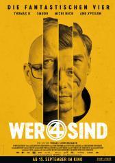 """Filmplakat zu """"Wer 4 sind""""   Bild: Filmwelt"""