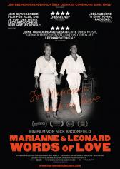 "Filmplakat zu ""Marianne & Leonard: Words of Love"" 