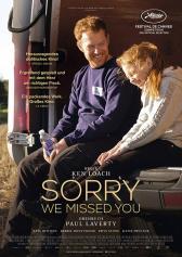 "Filmplakat zu ""Sorry We Missed You"" | Bild: Filmwelt"