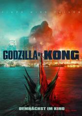 "Filmplakat zu ""Godzilla vs. Kong""   Bild: Warner"