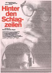 "Filmplakat zu ""Hinter den Schlagzeilen""   Bild: Real Fiction"