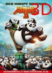 "Filmplakat zu ""Kung Fu Panda 3"" | Bild: Fox"