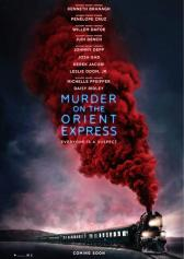 "Plakat zu ""Murder on the Orient Express"" 