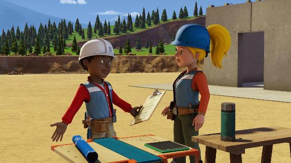 """Szenenbild aus """"Bob der Baumeister - Das Mega Team""""   Bild: Warner"""