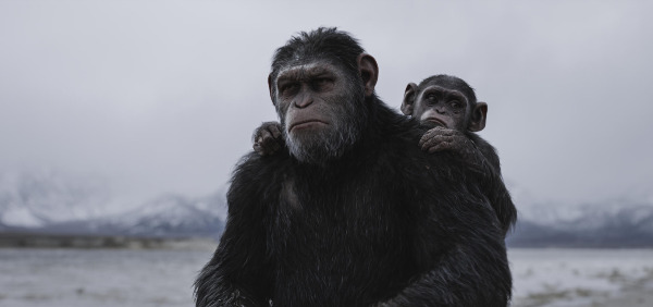 "Szenenbild aus ""War for the Planet of the Apes"" 