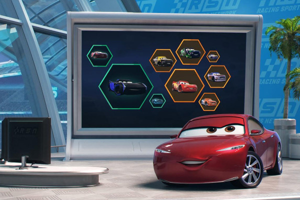 "Filmszene aus ""Cars 3 - Evolution"" 