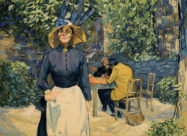 "Szenenbild aus ""Loving Vincent"" | Bild: Weltkino"