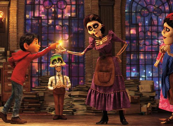 "Szenenbild aus ""Coco"" | Bild: Disney"