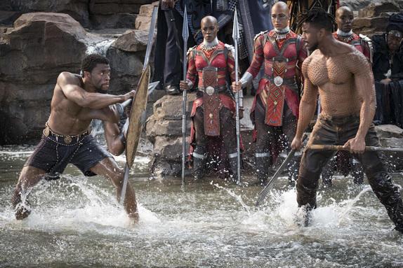 "Filmszene aus ""Black Panther"" | Bild: Disney"