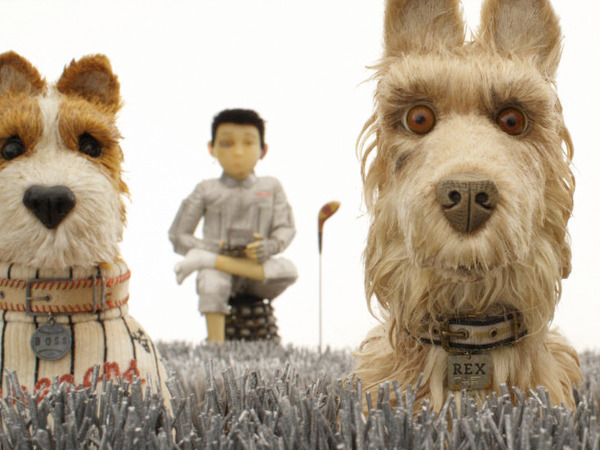 "Filmszene aus ""Isle of Dogs - Ataris Reise"" 