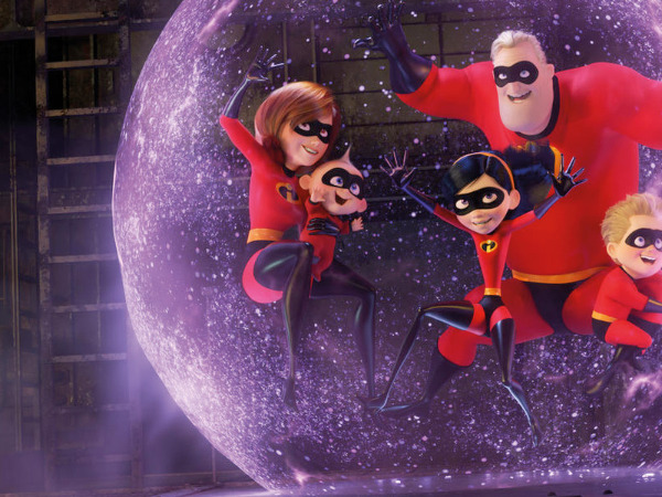"Filmszene aus ""The Incredibles 2 "" 