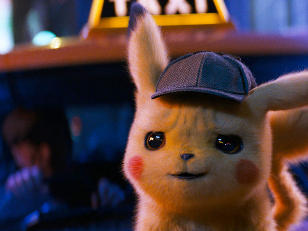 "Filmszene aus ""Pokémon Meisterdetektiv Pikachu"" | Bild: Warner"