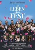 """Filmplakat zu """"Das Leben ist ein Fest""""   Bild: Central"""