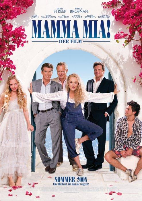 "Filmplakat zu ""Mamma Mia!""   Bild: Universal"