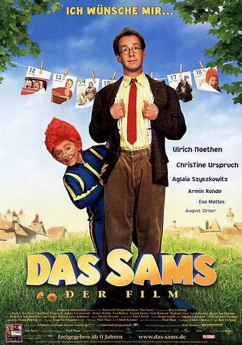 "Filmplakat zu ""Das Sams"" | Bild: Kinowel"