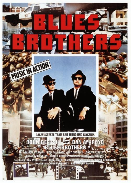 "Filmplakat zu ""Blues Brothers"" | Bild: -1"