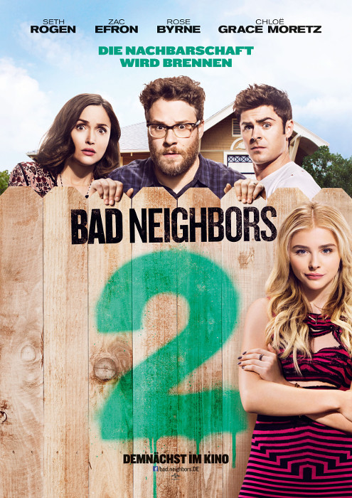 "Filmplakat zu ""Bad Neighbors 2"" 
